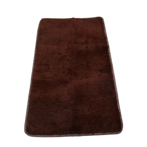 60 x 120cm Anti Skid Shaggy Fluffy Area Rug Bedroom Carpet Floor Mat Parlor