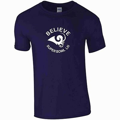 Credere La Rams Super Bowl 2019 T-shirt- Design Professionale