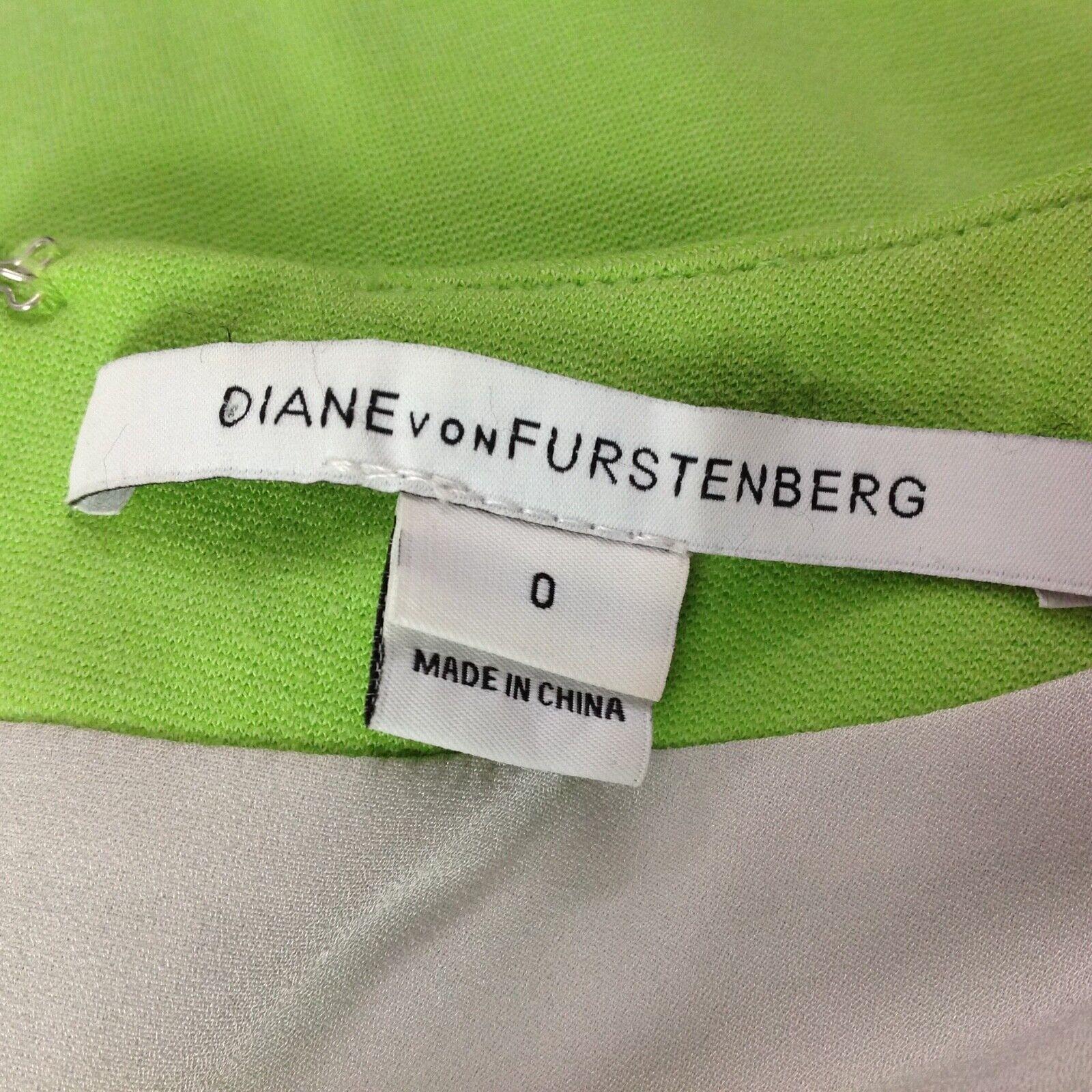 Diana von Furstenberg Agatha Knit Suiting Lime Gr… - image 8