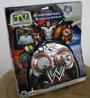 Jakks Tv Games World Wrestling, Plug And Play Tv Video Game System Console