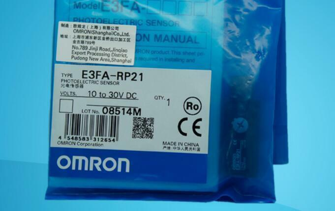 Omron Sensor E3FA-RP21 NEW  Besteplc