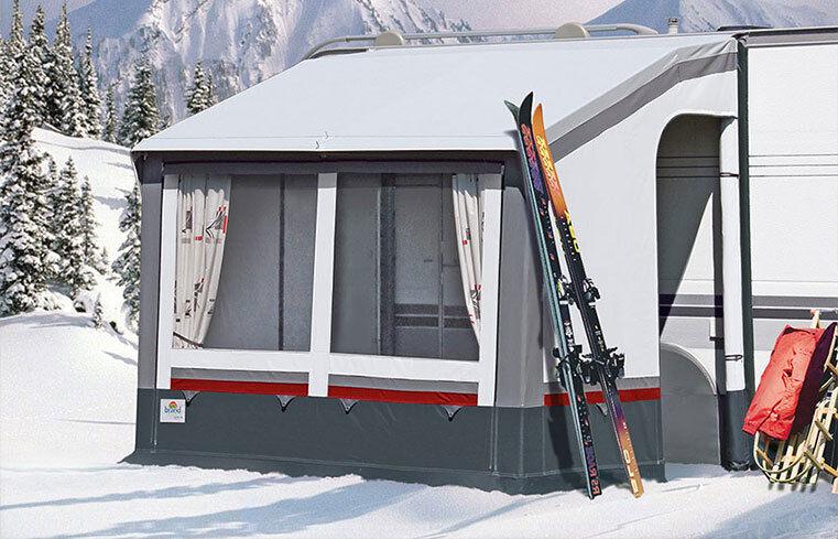 BRAND Wohnwagen Vorzelt Pamir S Gr. 01 215x160 cm Zelt Winterzelt Camping
