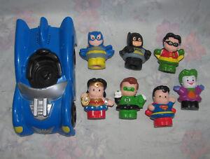 Fisher-Price-Little-People-Batman-Batmobile-Wonder-Woman-Green-Lantern