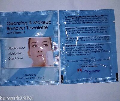 Facial Make Up Remover Wipes