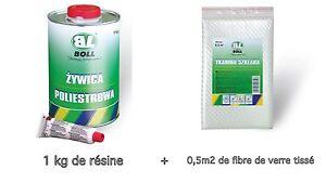 BOLL-Resine-polyester-1-kilo-catalyseur-fibre-de-verre-tisse-auto