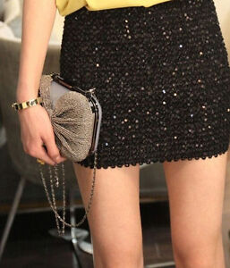 How to Accessorize a Sequin Skirt