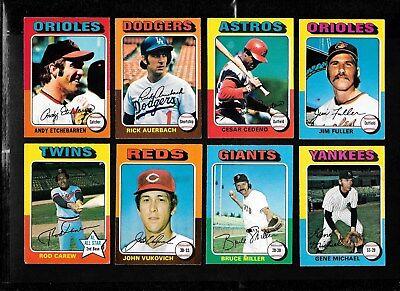 1975 Opc O Pee Chee Topps Mlb Baseball Card Error Variation 331