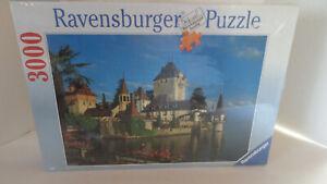 Ravensburger 3000-piece Jigsaw Puzzle - Switzerland: Castle Oberhofen - NEW/RARE