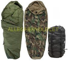 US Military 4 Piece Modular Sleeping Bag Sleep System w// GORTEX Bivy VGC EXC