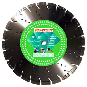 "Great for Stihl cutoff saws 14/"" Diamond Blade Brick Block Cuts Concrete"