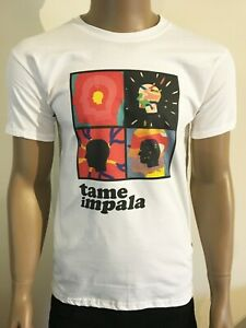 TAME-IMPALA-T-SHIRT-PSYCHEDELIC-AUSTRALIAN-ROCK-BAND-ACID-LSD-HIGH-HEADS