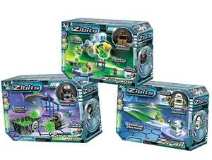 Remote Control Robot Toy RC Playset Kids Children Interactive Zibits 6+ Gift New
