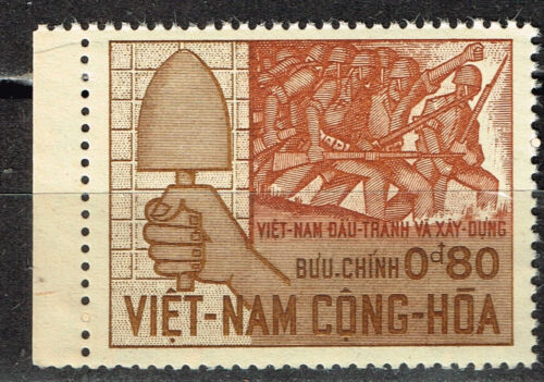 Vietnam War Soldiers of South in Battle stamp 1966 MNH
