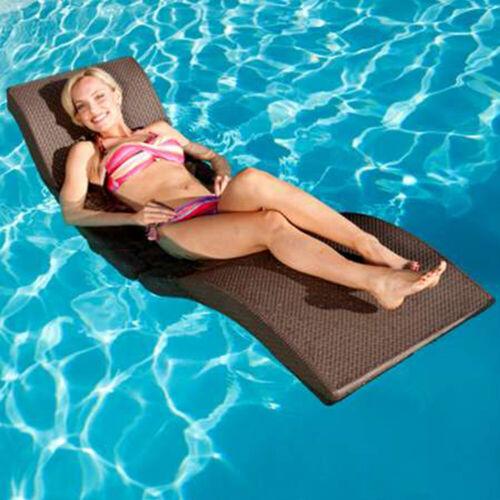 "Swimways Terra Sol Sonoma 66.5/""L x 25/""W x 24/""H Pool Side Lounge Chair"