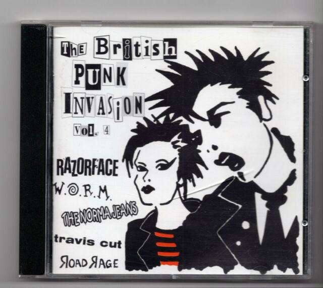 (JE82) The British Punk Invasion Vol 4, 30 tracks various artists - 1998 CD