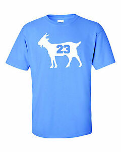 Michael Jordan Goat 23 North Carolina Tarheels T Shirt Tee