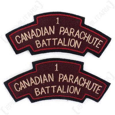 WW2 CANADA SHOULDER TITLE Repro
