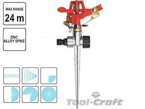YATO Garden Impulse sprinkler ZINCO LEGA Spike 6 modelli 24 M Range (yt-8986)