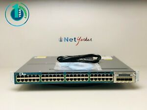 Cisco-WS-C3560X-48P-S-48-Port-PoE-Gigabit-Switch-COMES-WITH-C3KX-NM-1G