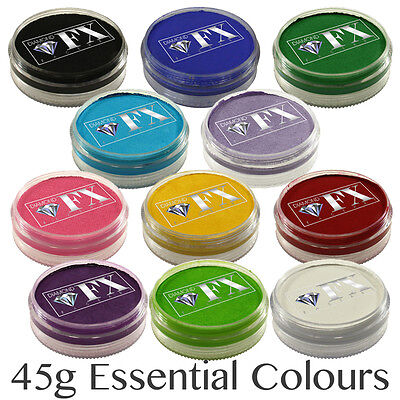 Sinnvoll 45g Diamond Fx ( Dfx ) Professionell Gesichtsfarbe ~ Essential Farben Fabriken Und Minen