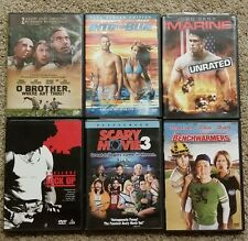 Lot of 6 DVDs Scary Movie 3/Lock Up/Into the Blue/ Benchwarmers/Marine/O Brother