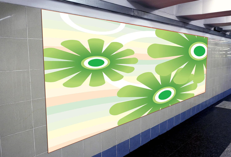 3D Grün flower 2333 Paper Wall Print Decal Wall Wall Murals AJ WALLPAPER GB