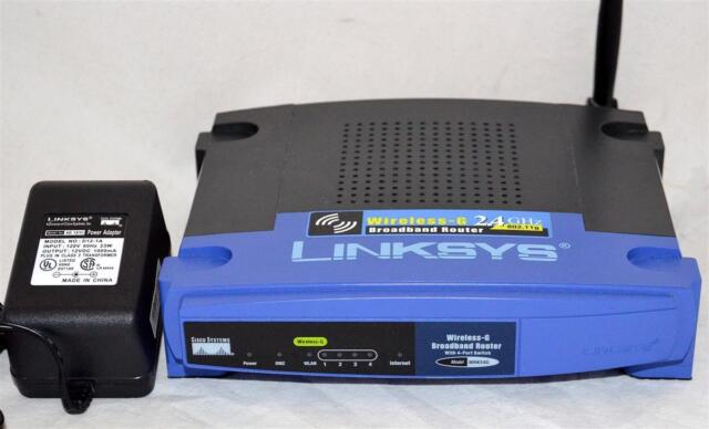 Linksys WRK54G Router Drivers