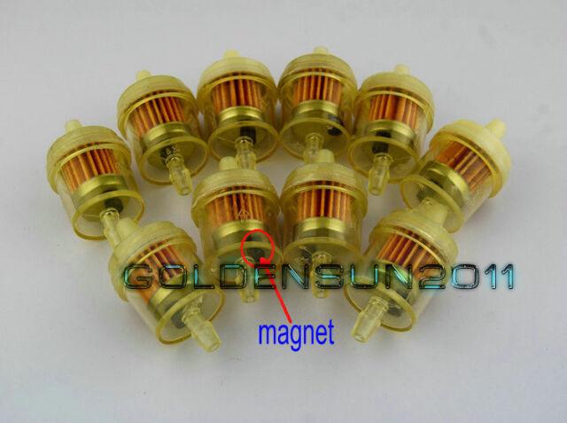 """For Suzuki Dirt Bike Clear Inline Gas Carburetor Fuel Filter 1//4/"""" 6mm 7mm Engine"""