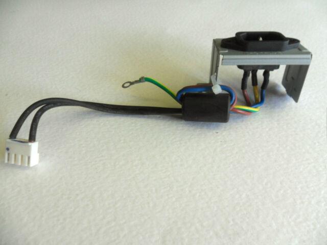Toshiba 32AV615DB Mains Input IEC Socket Assembly with Lead & Plug