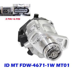 Ignition Distributor For 1994-1995 Mitsubishi Galant 2.4l 4g63 Mt01 T6t58271