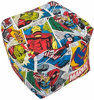 Amazing Marvel Avengers Bean Cube Justice Bean Bag Filled Chair Gmtry Best Dining Table And Chair Ideas Images Gmtryco