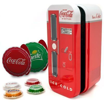 Fanta /& Diet Coke Sprite 2020 Fiji Coca Cola Vending Machine 4 Coin Set Coke