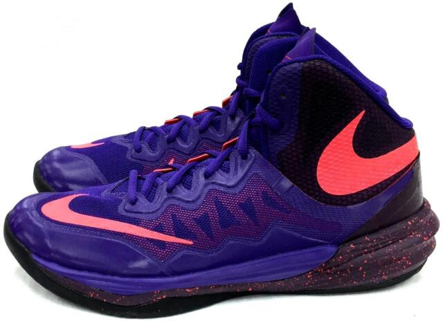brand new 982d6 6b03e Nike Prime Hype DF II Basketball Shoe Mens 10 Purple/crimsom 806941 500