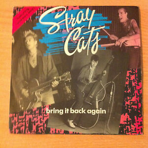 Stray-Cats-034-Bring-It-Back-Again-034-Vinyle-7-034-Emi-006-20-3272-7-1989