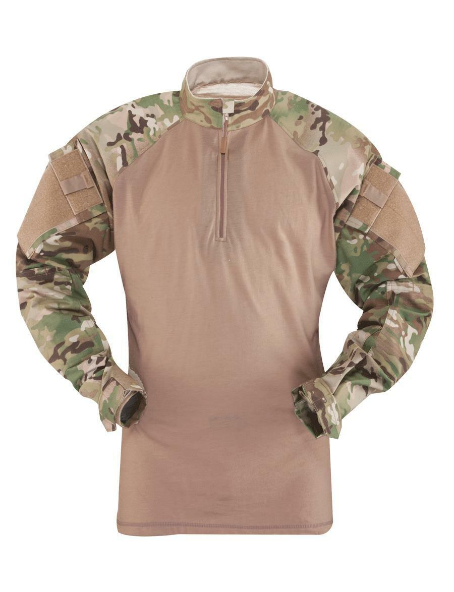 d585c16284a 4 ZIP COMBAT LONG SLEEVE, MULTI-CAM , MENS, 50 50 NYCO 1 SHIRT ...