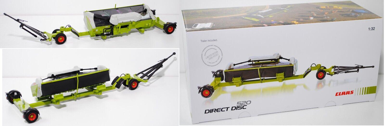 Wiking 077825 Claas Direct Disc 520 con taglio fabbrica auto 1:32 SCATOLA PUBBLICITARIA