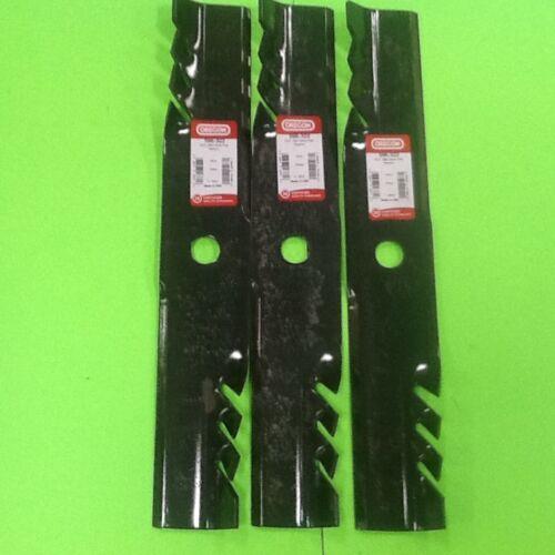 "596-322 3 Pack Oregon G5 Gator Blades 52/"" Exmark Pioneer 103-6387,103-6397"