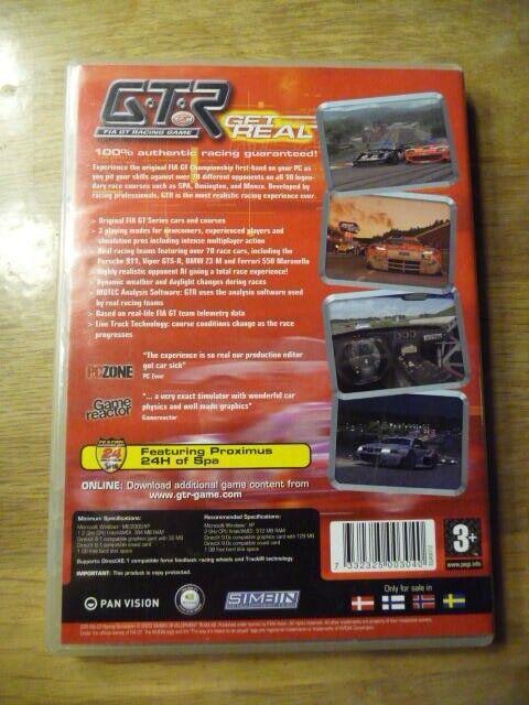 Fia gt racing game, til pc, anden genre