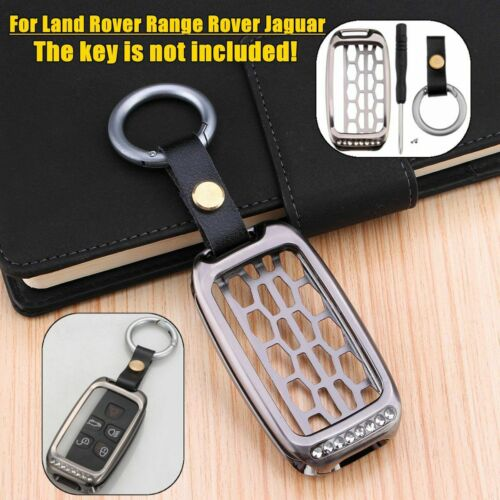 UK Remote Key Cover Case For RANGE & LAND ROVER LR4 DISCOVERY SPORT EVOQUE