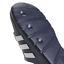 Adidas-Duramo-Mens-Slides-Flip-Flops-Pool-Beach-Slippers-Black-Navy-Blue-Stripes miniatura 19