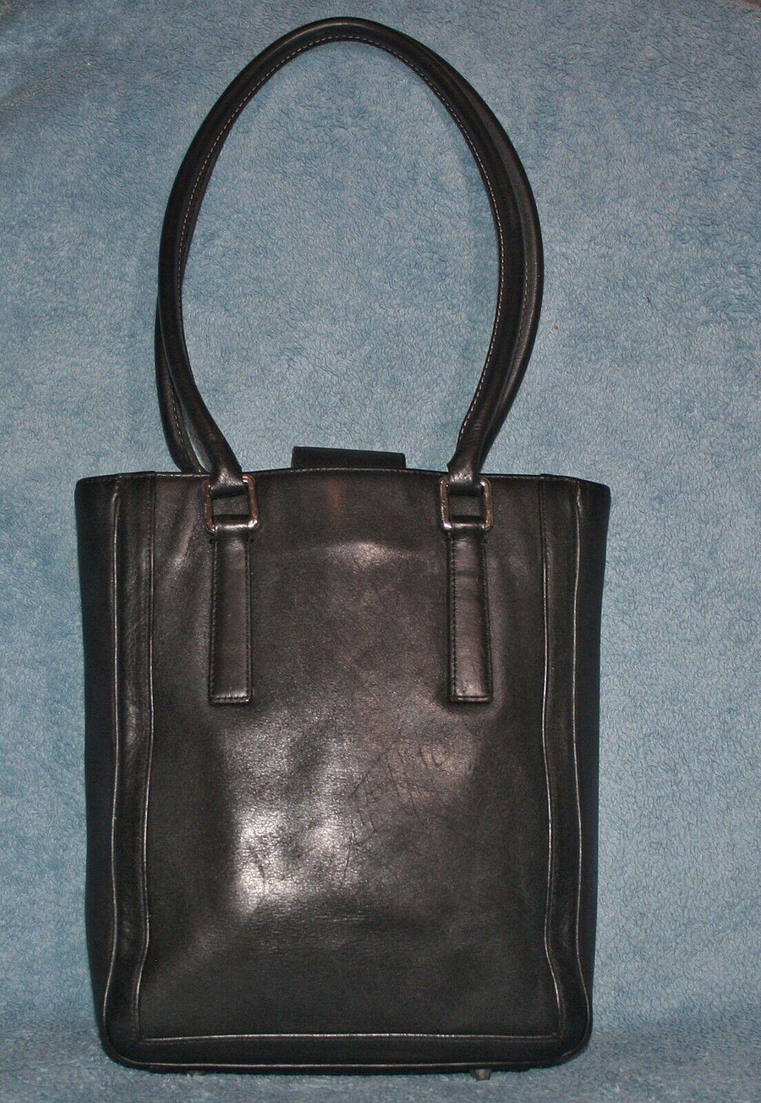 Coach Bonnie Cashin Black Leather Shoulder Bag #9… - image 1
