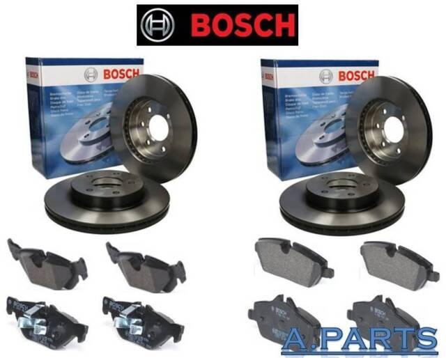 Bosch Juego de Frenos Completo para Forderachse y Eje Trasero BMW 1ER E81 E87