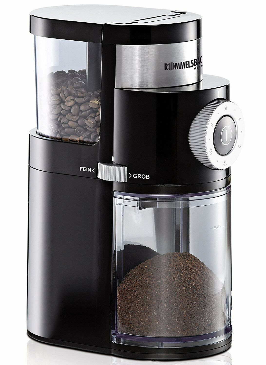 Rommelsbacher EKM 200 Grinder coffee button swivel for 2 - 12 dose