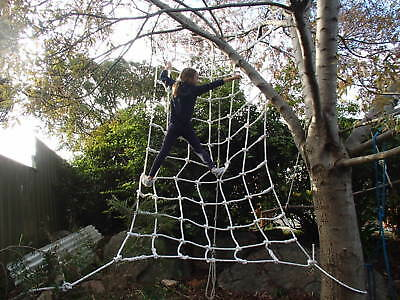 Outdoor Toys & Structures Heavy Duty Cubby House Scramble/climbing/playground Net 3.0mtr X 1.5mtr-14mm Ro Climbing & Caving