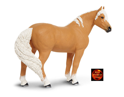 Mustang Mare Dun Caballo Winners Circle Juguete Figura por Safari Ltd 151605 Nuevo