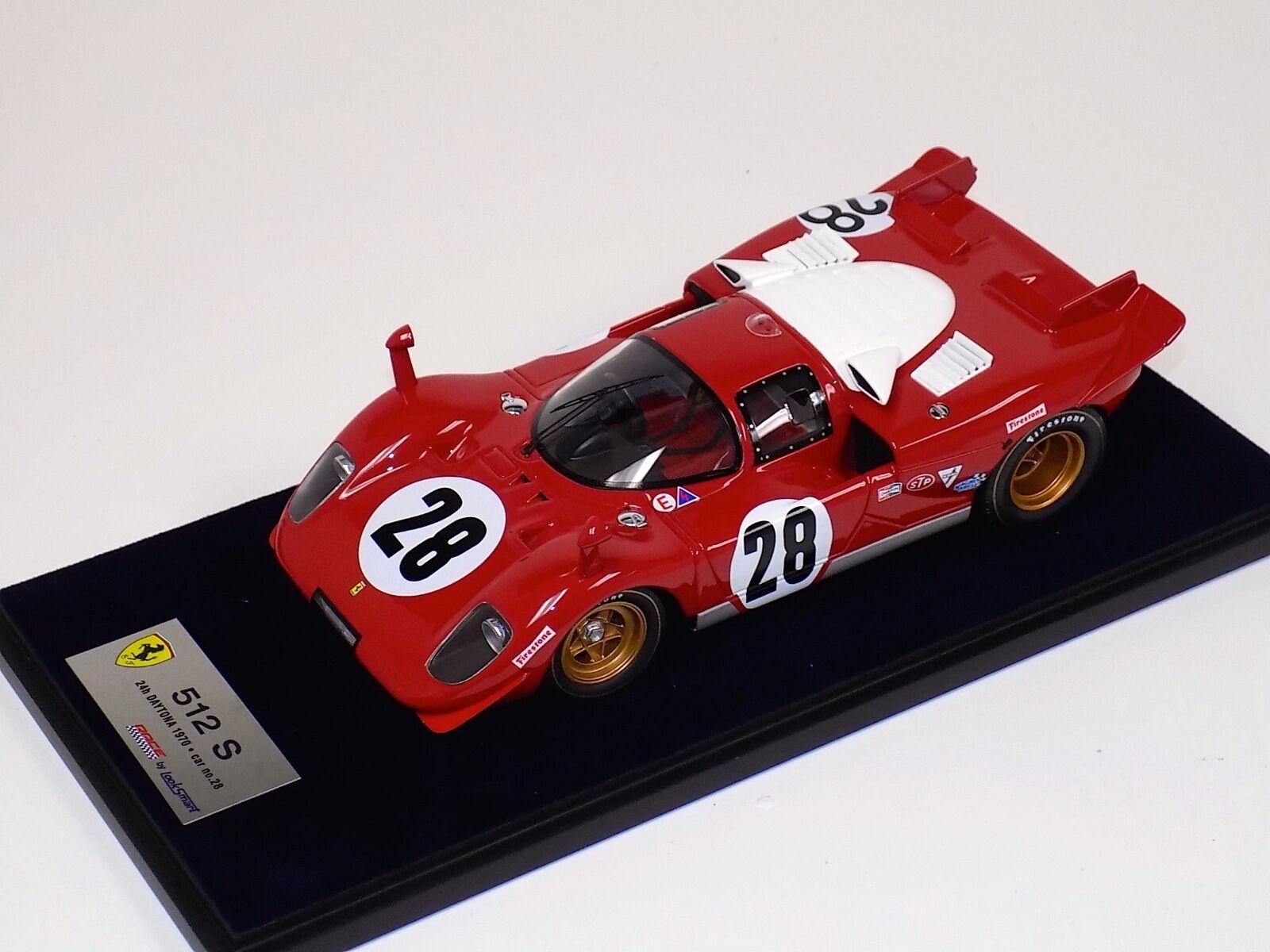 1 18 Looksmart Ferrar 512 S 24H Daytona 1970 car  28 Scuderia Ferrari