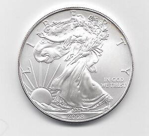 One Troy oz .999 Bullion 2016-1 oz American Silver Eagle Coin
