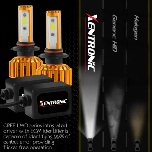 XENTRONIC LED HID Headlight Conversion kit 9006 6000K for 1992-1999 BMW 318i