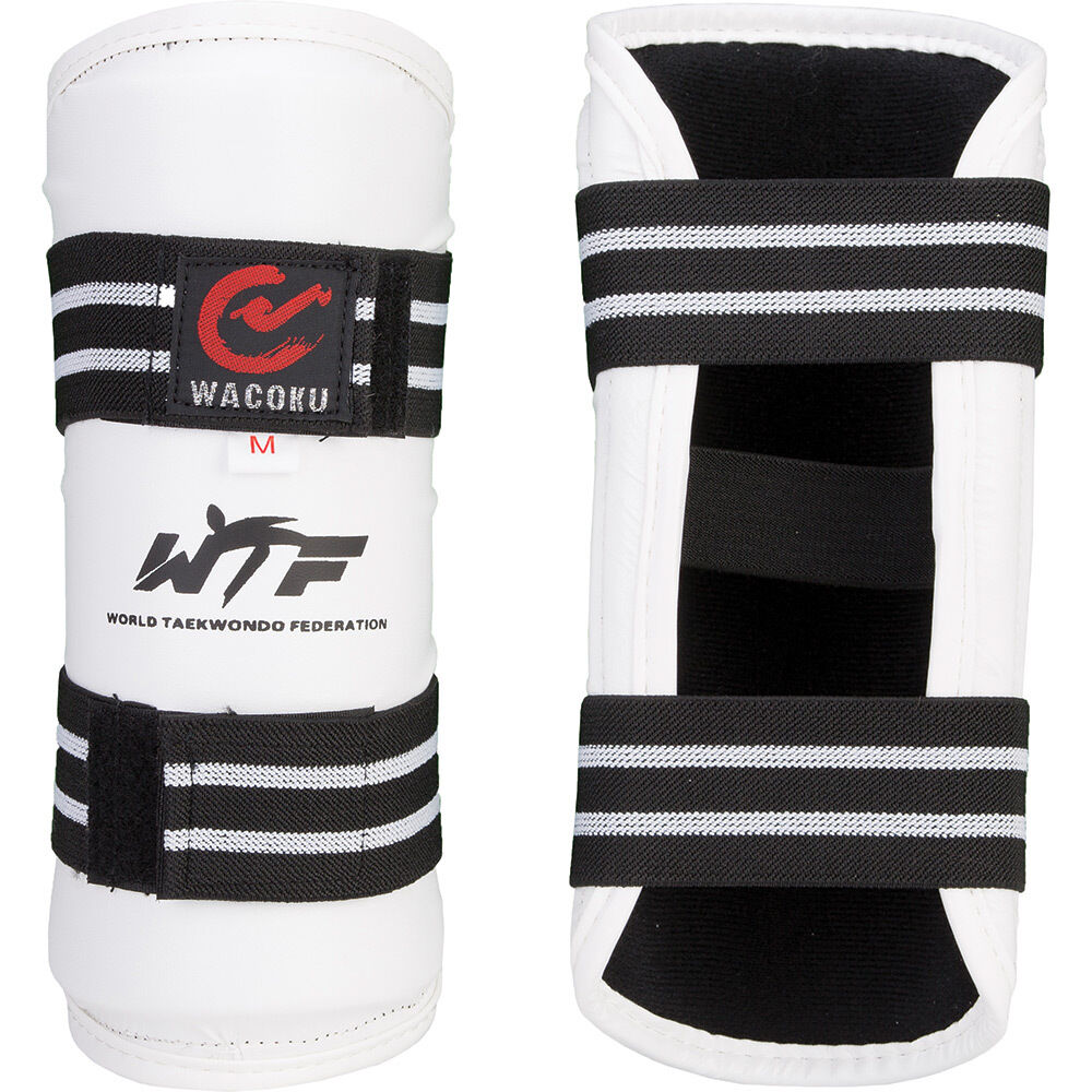 Wacoku WTF Approved Forearm Guards Taekwondo Pads Competition Arm TKD Protection