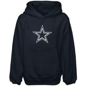 Details about Dallas Cowboys Youth Boys Logo Premier Pullover Hoody  Sweatshirt - Navy f73683c35